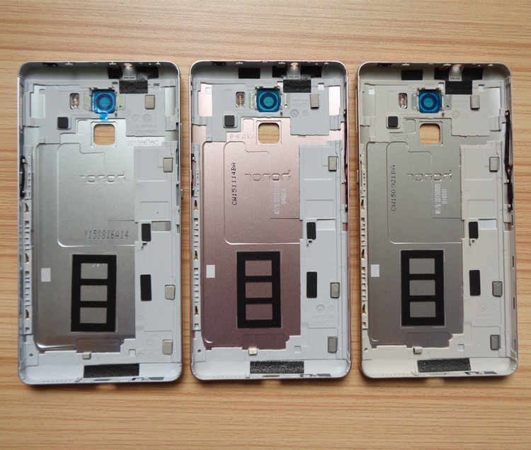 100% новая задняя батарея чехол для Huawei Honor 7 Чехол для задней части телефона запасные части камера стеклянный объектив высокого качества