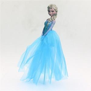 Принцесса Анна, Эльза, Аврора, украшение на день рождения, Кекс/торт, топ, выбор с платьем, Белоснежка, аксессуары для торта, вечерние принадл...