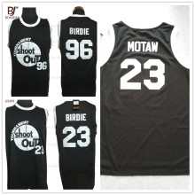 2017 BONJEAN Tournament Shootout Jersey #23 #94 Birdie 23# Motaw Birdmen Basketball Jerseys Stitched Mens Black Shirts