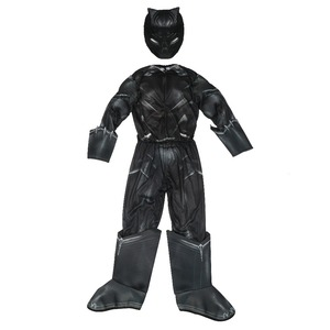 Image 3 - Boys Civil War Black Panther Deluxe Costume