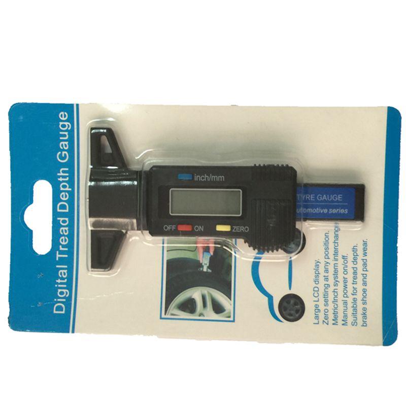 0,01 mAutomobilio padangos skaitmeninis protektoriaus gylio matuoklis - Matavimo prietaisai - Nuotrauka 5