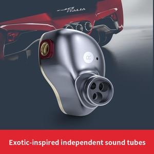 Image 3 - FiiO FH5 auriculares híbridos HIFI con carcasa de Metal, Cable desmontable, diseño MMCX, controlador cuádruple, 3,5mm, para iOS y ordenador Android PC