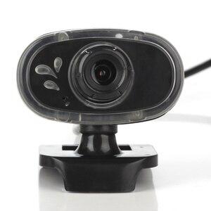 Image 4 - HXSJ mode HD Webcam 12 M Pixels 360 degrés Rotation ordinateur Web caméra A881 Microphone intégré pour PC ordinateur portable caméscope