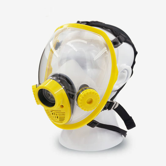 Full Gas Mask Safety Respirator Gas Masks  Breathe Mask Chemical Mask 6200 n95 double gas mask protection filter chemical respirator mask
