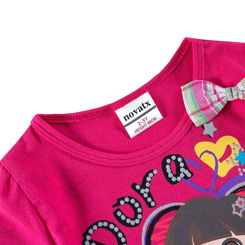 novatx top merk hot selling baby jurken cartoon gedrukt puur katoen - Kinderkleding - Foto 4