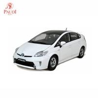 Paudi Model 1/18 1:18 Scale Toyota Prius 2012 White Diecast Model Car Toy Model Car Doors Open