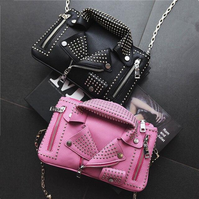 Дизайнер Для женщин Курьерские сумки Мини Черная курточка сумка Сумки розовый сумка цепи Сумки через плечо мешок основной Femme De MARQUE