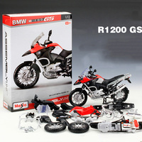 Maisto 1 12 Motorcycle Toy Diecast Metal ABS Simulation Motorbike DIY Assembled Model Kits Toys For