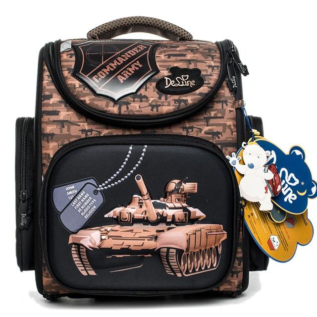 Aliexpress.com : Buy Delune Russian Style Kids School Backpacks ...