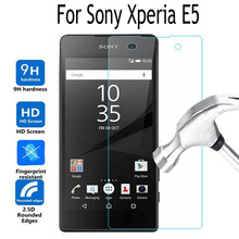 For Sony Xperia E 5 Tempered Glass Screen Protector Cover For Sony