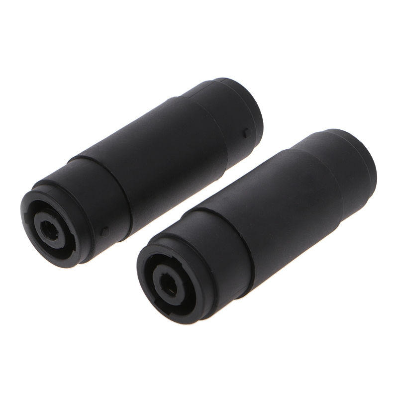 2 Pcs 4-Pin Pole Female To Female Speakon Coupler Adapter Audio Cable Connector L152 Pcs 4-Pin Pole Female To Female Speakon Coupler Adapter Audio Cable Connector L15