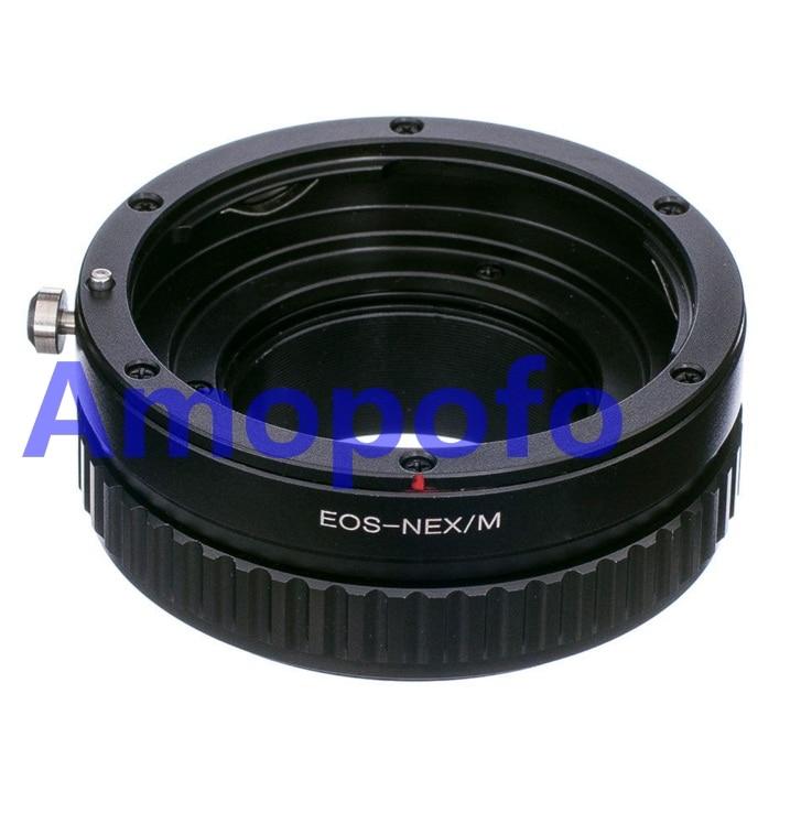 Amopofo EOS-NEX / M 어댑터 용 Canon EF 마운트 렌즈 - SonyE - 카메라 및 사진
