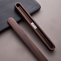 High grade Walnut Chopsticks Portable Set Japanese style Vintage Chopsticks Adult Students Wooden Chopsticks