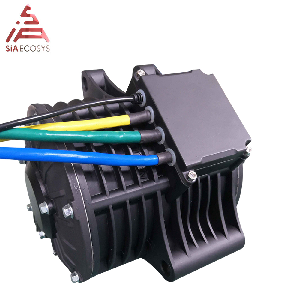 QS 138 3kW 72V80KPH Mid Drive Motor With New Appearance Sprocket Design