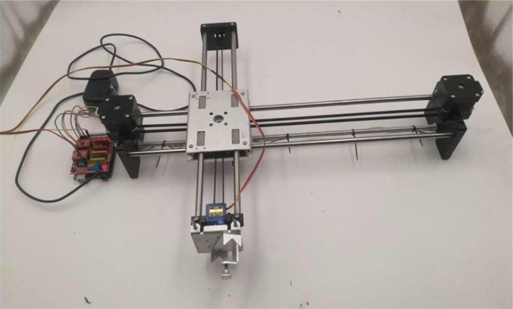 DIY Metal DrawBot Drawing Machine full kit 4xidraw Pen