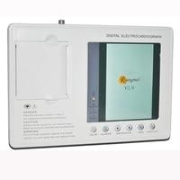 Blood Pressure Arm Digital 12 Leads 3 Channel CE ECG EKG Machine with Printer Paper