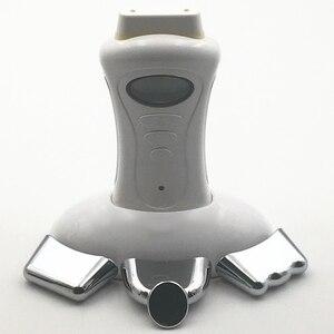 Image 2 - Appareil portatif de traitement de thérapie de station thermale galvanique tenu dans la main électroporateur serrant la Machine faciale de microcourant dascenseur de visage