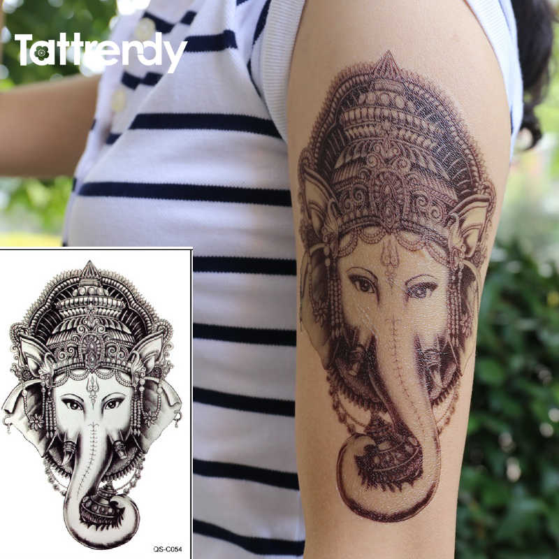 6e70af709655b Detail Feedback Questions about Thai Elephant God Temporary Tattoo ...