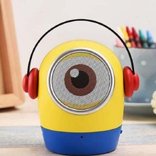 Bluetooth Speaker Wireless Cartoon Minions Portable Handsfree Subwoofer with Mic Support TF card for Phone Xiaomi Samsung