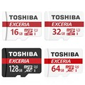 Toshiba Micro SD Card 16GB 32GB 64GB 128GB Class 10 U3 90M/S Memory Card SDXC Micro SD TF Card for Cellphone Tablet Smart Device