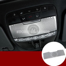цена на Interior Front Reading Light Cover Trim  For Mercedes Benz C Class W205 2014-2015 1pcs