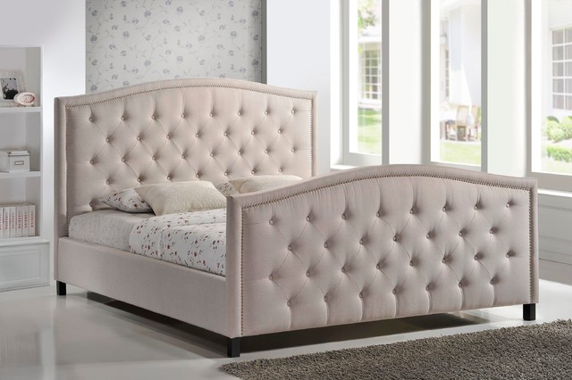 Upholstered Bed Frame Bedroom Furniture