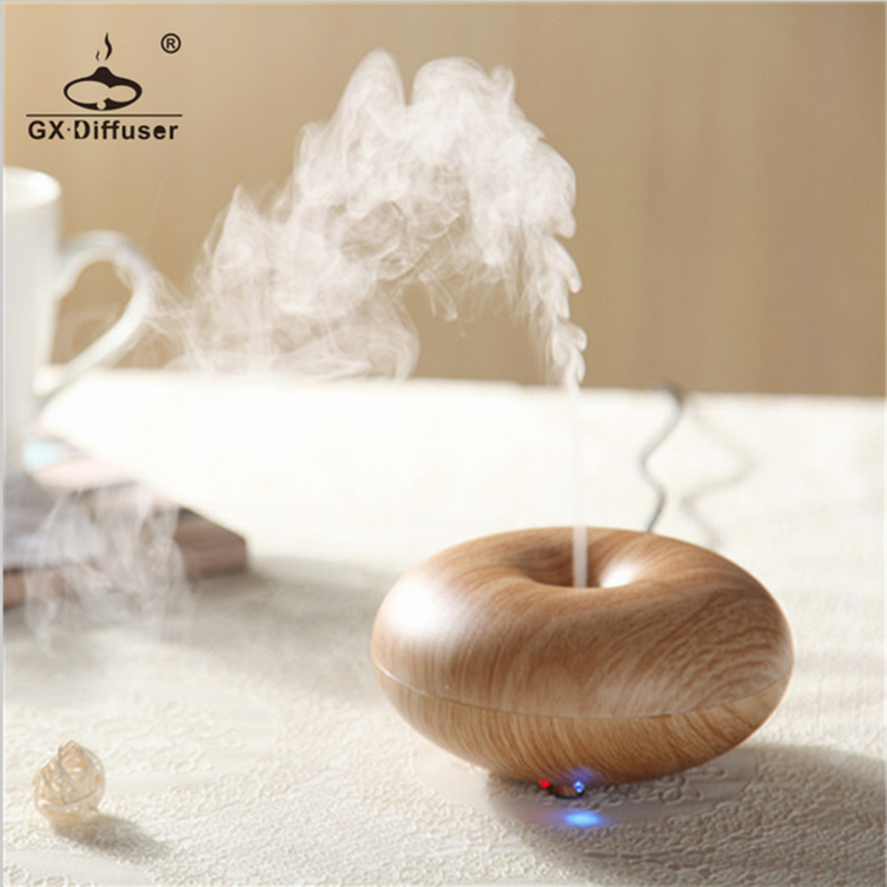 New donut shape humidifier home appliances mini light for Essential appliances for a new home