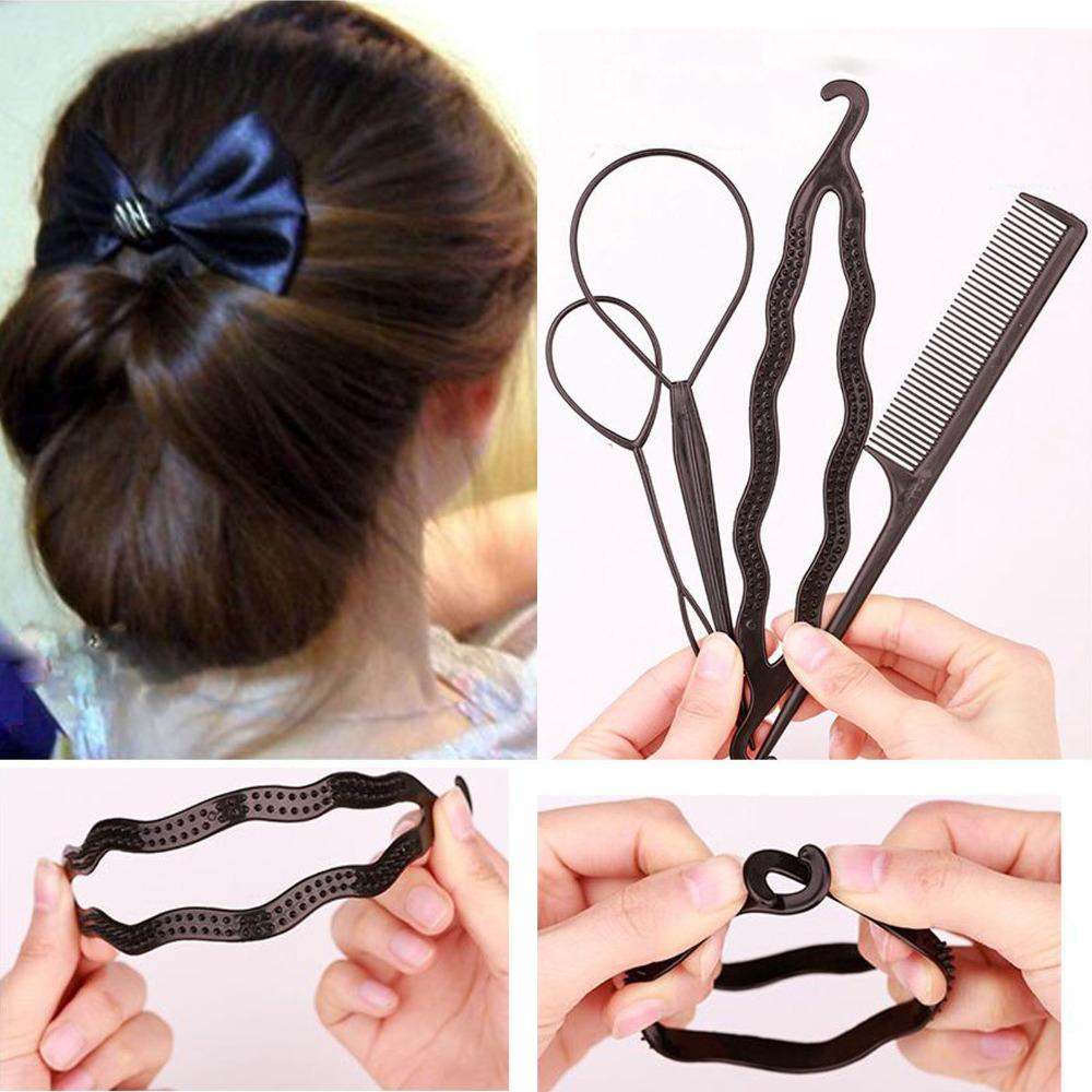 Fine Online Buy Wholesale Hair Bun Maker Braid Tool Hair From China Short Hairstyles For Black Women Fulllsitofus