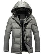 2017 Новый Бренд Зимняя Куртка Мужчины С Капюшоном Модная Одежда мужская куртки и пальто Случайные Мужские Ветровки Утолщаются Теплое Пальто для мужской