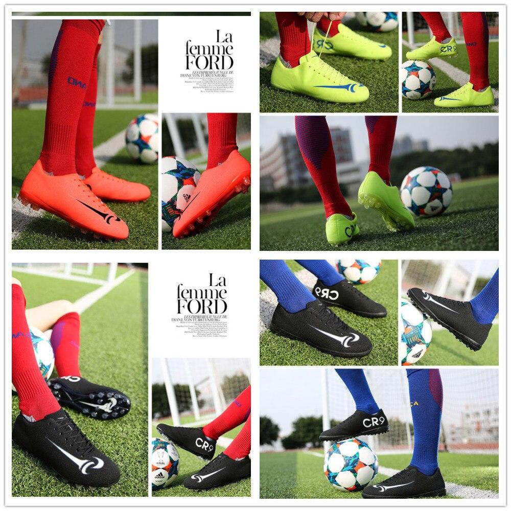 Incendios niños fútbol Zapatos Boot hombre fútbol Zapatos cuero fútbol  Zapatos zapatos de fútbol sala fútbol Zapatos 2017 en Zapatos de fútbol de  Deportes y ... 45834a9a92f5c
