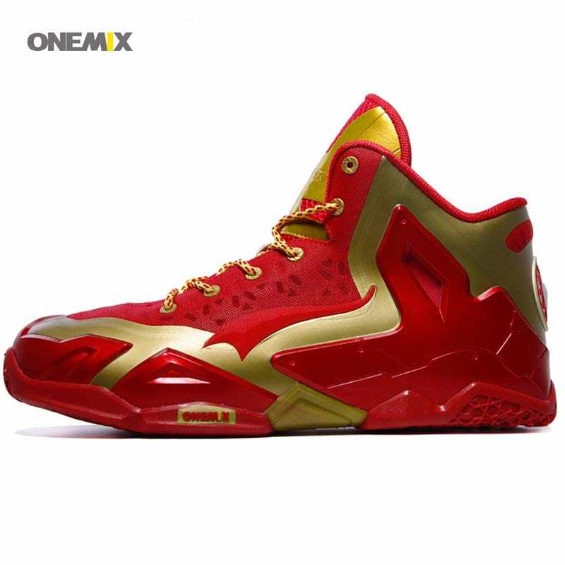 51affc18588b ONEMIX Free 1115 kevin wholesale athletic Men s Sneaker Sport unique design  reflective high top Basketball Star