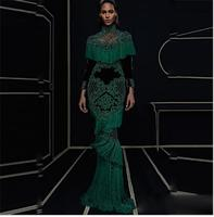 HIGH QUALITY Newest Fashion 2016 Runway Maxi Dress Women S Hollow Out Luxurious Handwork Beading Tassel