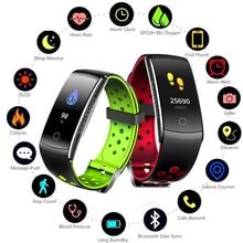 GIAUSA IP68 Waterproof Heart Rate Monitor Fitness Bracelet Smart Wristband Blood Pressure/Oxygen Smart Bracelet Band Watch цена