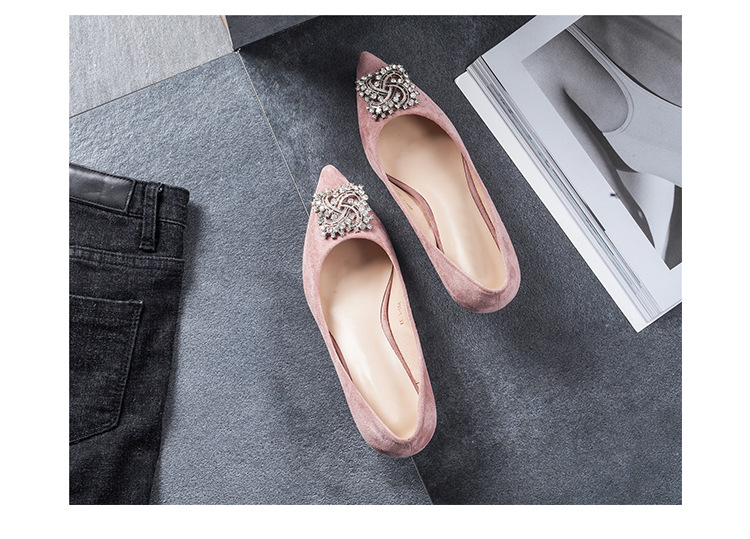 2018 new arrival top quality Pumps Women Shoes Red Pointed Toe High Heels pink color
