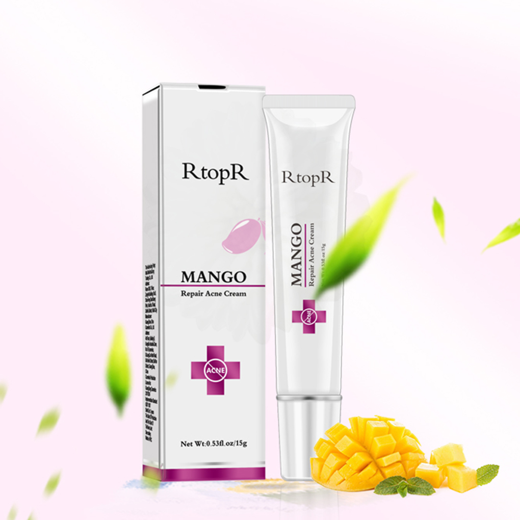 RtopR Mango Extract Acne Removing Cream Oil Control Whitening Repairing Skin Care Supplies