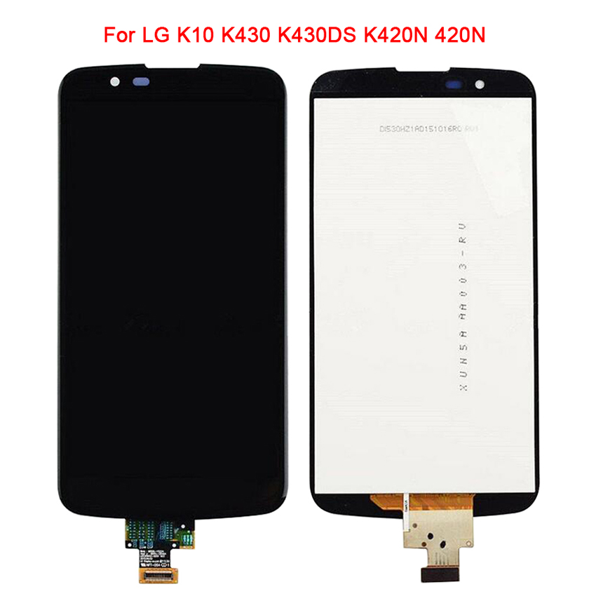 Replacement LCD For LG k10 K420N K430 K430DS LCD Display  Digitizer Touch Screen for LG k430 without/with FrameReplacement LCD For LG k10 K420N K430 K430DS LCD Display  Digitizer Touch Screen for LG k430 without/with Frame