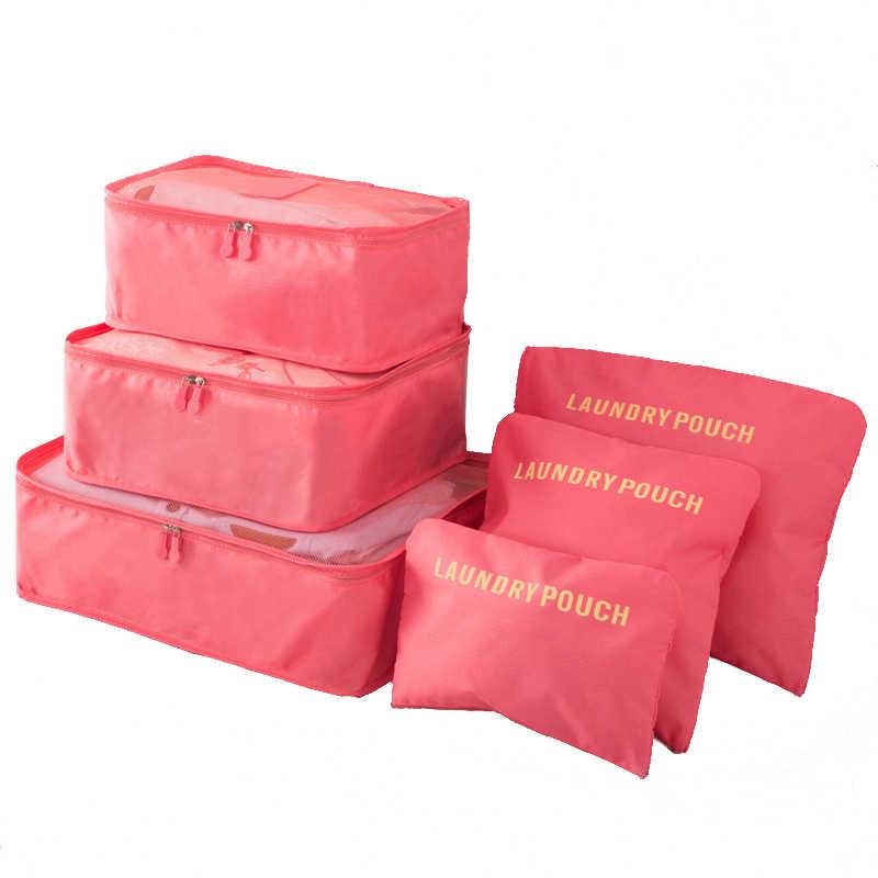 Travel Case Clothes Tidy Storage Bag Box Luggage Suitcase Pouch Bra Cosmetics Underwear Waterproof Organizer Container 22-1