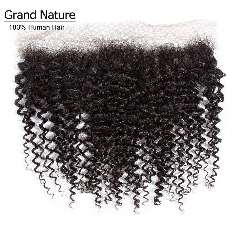 Cabelo encaracolado brasileiro, cabelo com fechamento frontal de 13x4 polegadas fechamento frontal suíço com uma extensão de cabelo remy