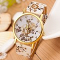 Women Watch 2016 Fashion Casual Colorful Flower Quartz Watch Ladies Geneva Watch Women Trendy Wristwatch Relogio Feminino Clock