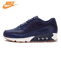 Original New Arrival Official NIKE Men S AIR MAX 90 ESSENTIAL Breathable Running Shoes Sneakers Trainers