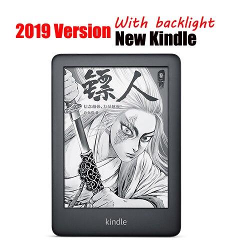 Nouveau 6 pouces kindle e-book 2019 version meilleur kindle ebook e livre lecteur Carta e-ink écran eink e-ink E lecteur 167ppi