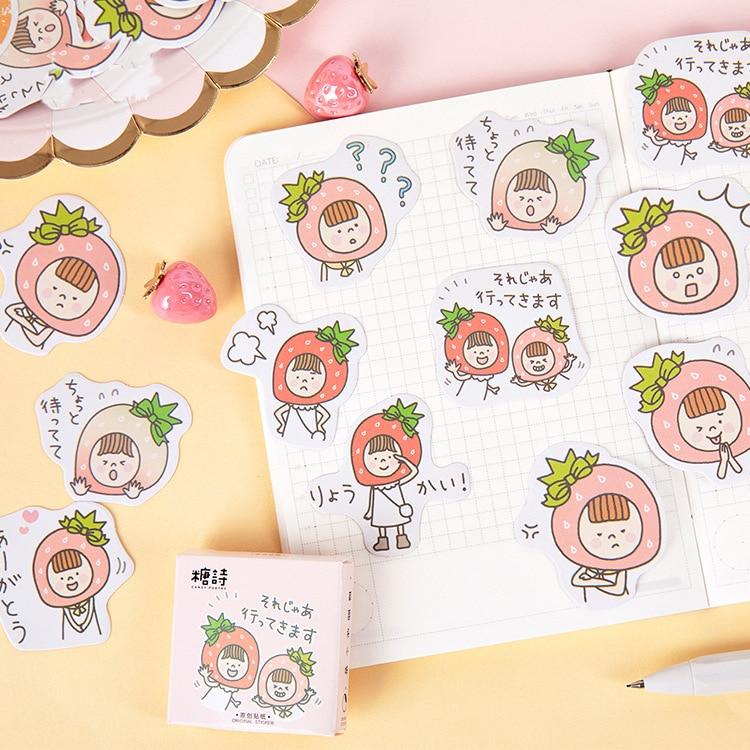 Cupcake Labels//Handmade by Autocollants//24//cute kawaii//Personnalisé