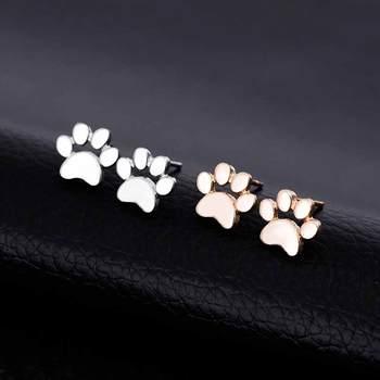 Dog  Cute Paw Earrings 3