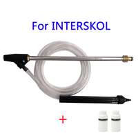 High Pressure Washer With 2 Pcs Ceramic Nozzle Car washers Sand Blasting Hose Quick Connect For Interskol