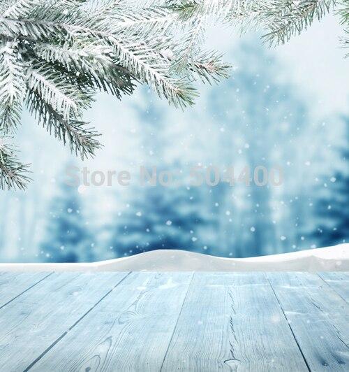 150*220CM Thin Art fabric snow backdrop Newborn Photography Backdrops Christmas Photo Studio Background D-2395