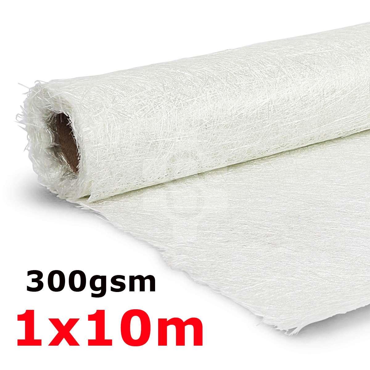1 m * 10 m 300gsm tapis en Fiber de verre fibre de verre coupe tissu en Fiber de verre sans alcali fibre de verre hachée pour résine GRP