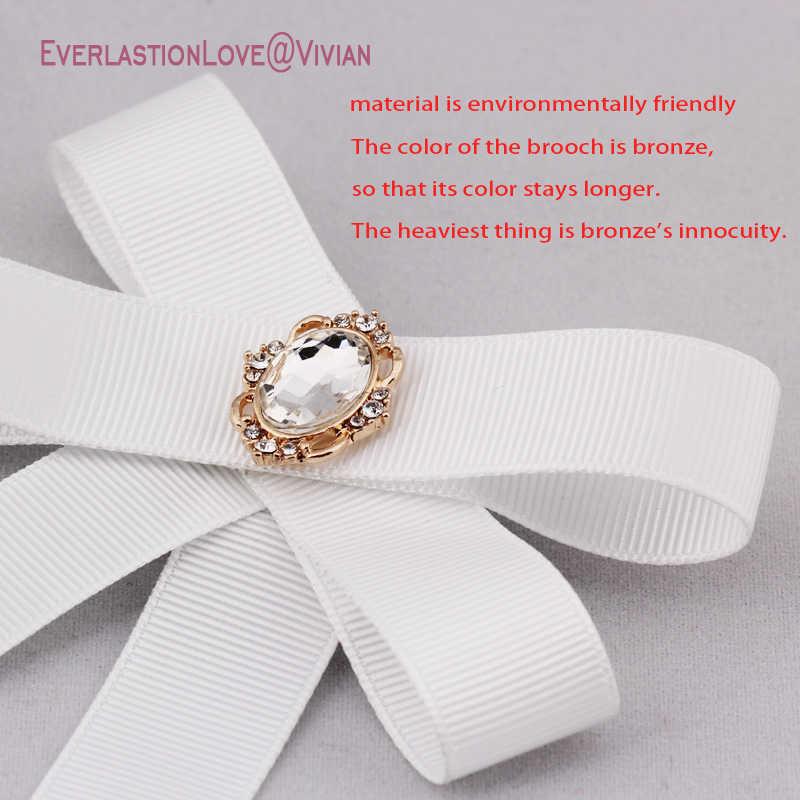 SUQI Nuovo Dell'arco di Modo Spille Spilli gioielli Per Le Donne Del Nastro Cravatta Al Collo delle donne Spilla per bambini spilla cravatta per il Partito da sposa 2019