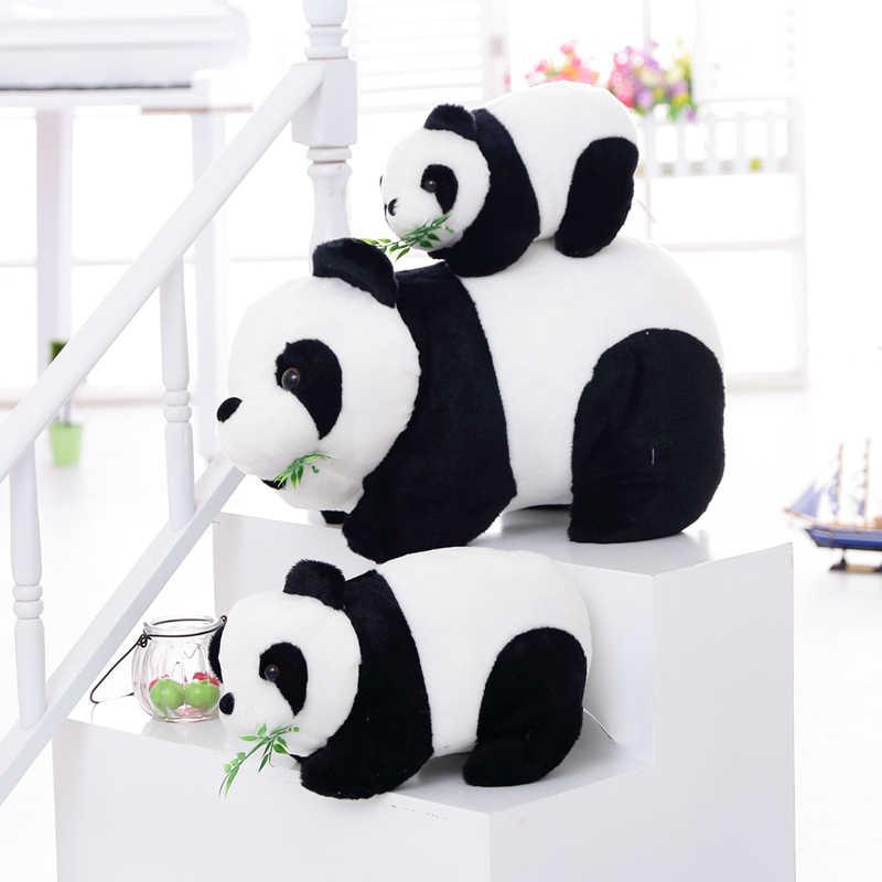 Sıcak Sevimli Panda Peluş Doldurulmuş hayvan oyuncaklar Bebek Bebek Yumuşak kawaii şirin bebek Noel doğum günü hediyesi Hediye çocuk oyuncakları