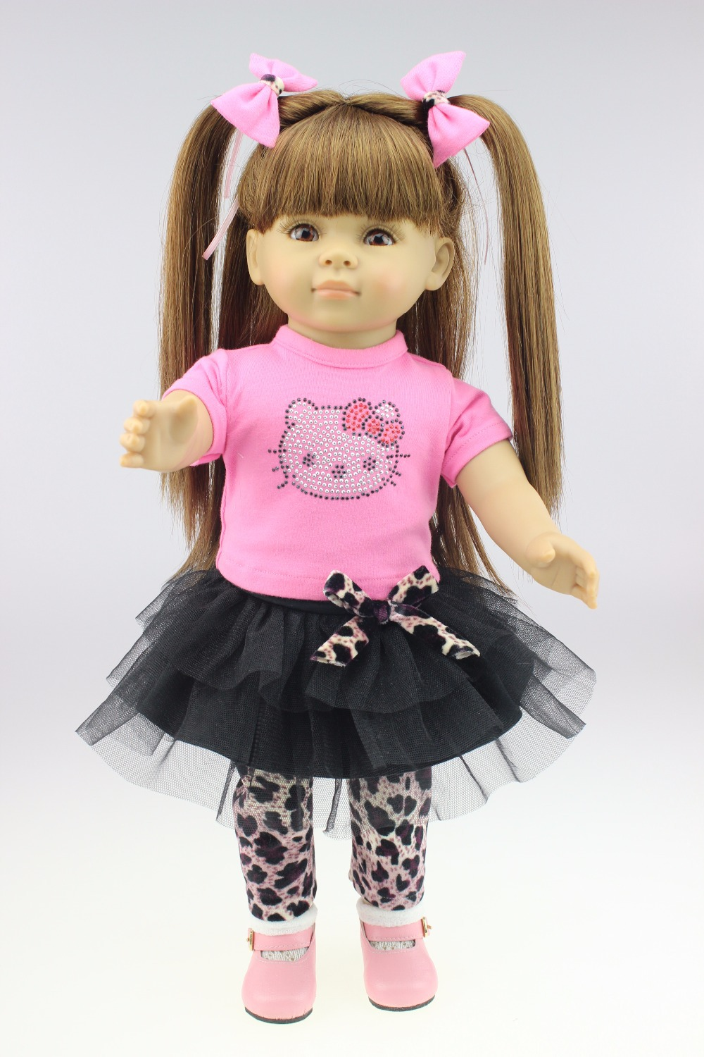 New Wholesale American Girl Style Baby Doll Journey Girl Dollie Me Fashion Reborn Doll Toys For