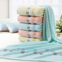 1PCS 100% Cotton Absorbent Bath Towel 70*140cm Large Solid Quick-Drying Soft Beach Towels Thick SPA Mat for Adults
